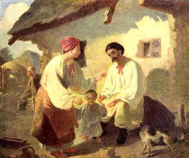 Картинки по запросу творчість т.шевченка-художника селянська родина